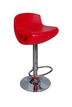 Picture of Office Chair Company Dakota Super Stylish Modern Adjustable Barstool - Red