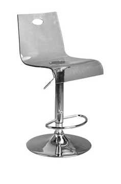 Picture of Office Chair Company Florida Modern translucent bar stool - Smoke