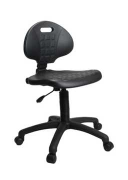 Picture of Office Chair Company Derwent Poly Operators Chair - Black