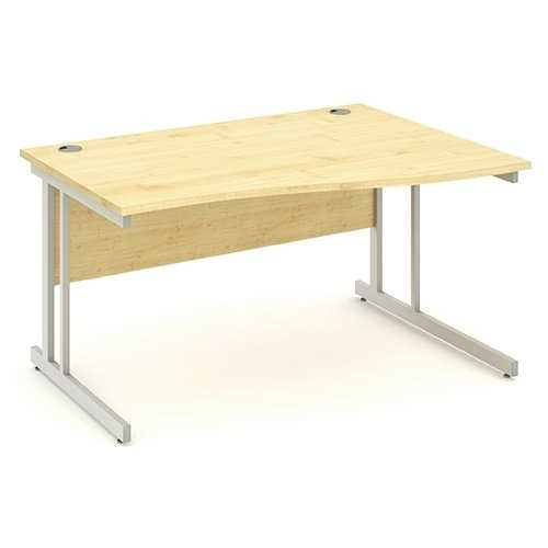 Picture of Office Chair Company 1400 Right Hand Wave Desk - Maple