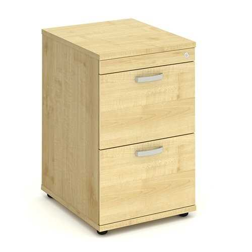 Picture of Office Chair Company Filing Cabinet 2 Drawer - Maple