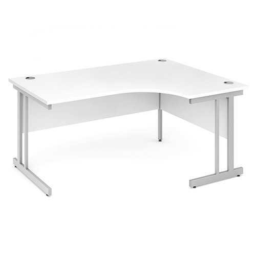 Picture of Office Chair Company 1600 Right Hand Crescent Desk - White