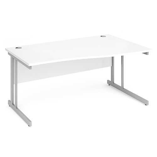 Picture of Office Chair Company 1600 Right Hand Wave Desk - White