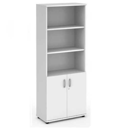 Picture of Office Chair Company 2000 Cupboard Open Shelves - White