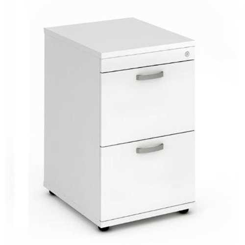 Picture of Office Chair Company Filing Cabinet 2 Drawer - White