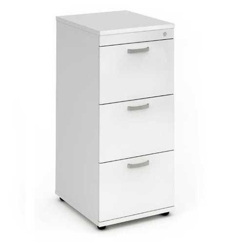 Picture of Office Chair Company Filing Cabinet 3 Drawer - White