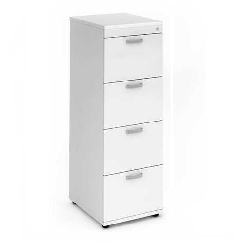 Picture of Office Chair Company Filing Cabinet 4 Drawer - White